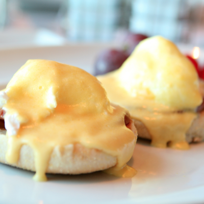 Slow Cooker Mock Eggs Benedict