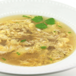 Slow Cooker Egg Drop Soup * *