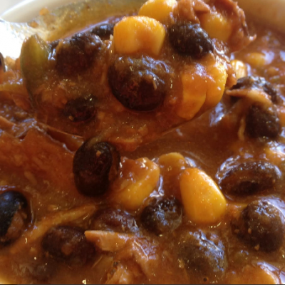 **Slow Cooker Chicken and Corn Chili