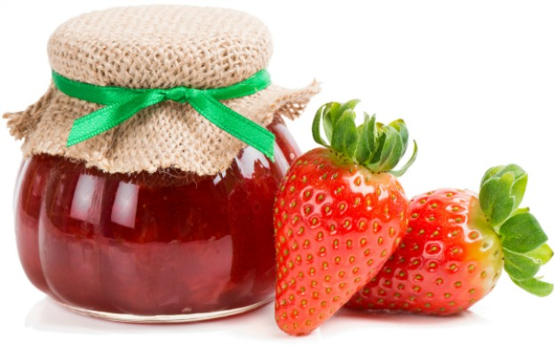 Slow Cooker Strawberry Jam * *