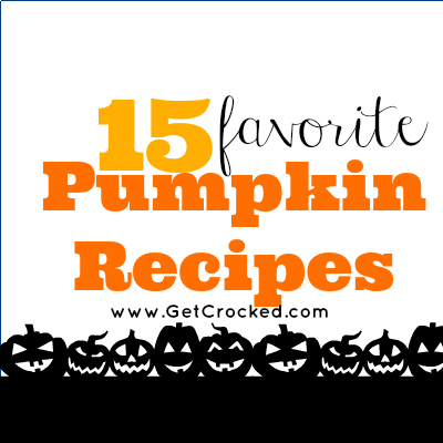 15 Favorite Pumpkin Recipes