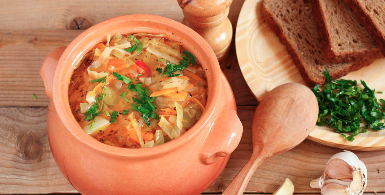 Slow Cooker Cabbage Soup * *