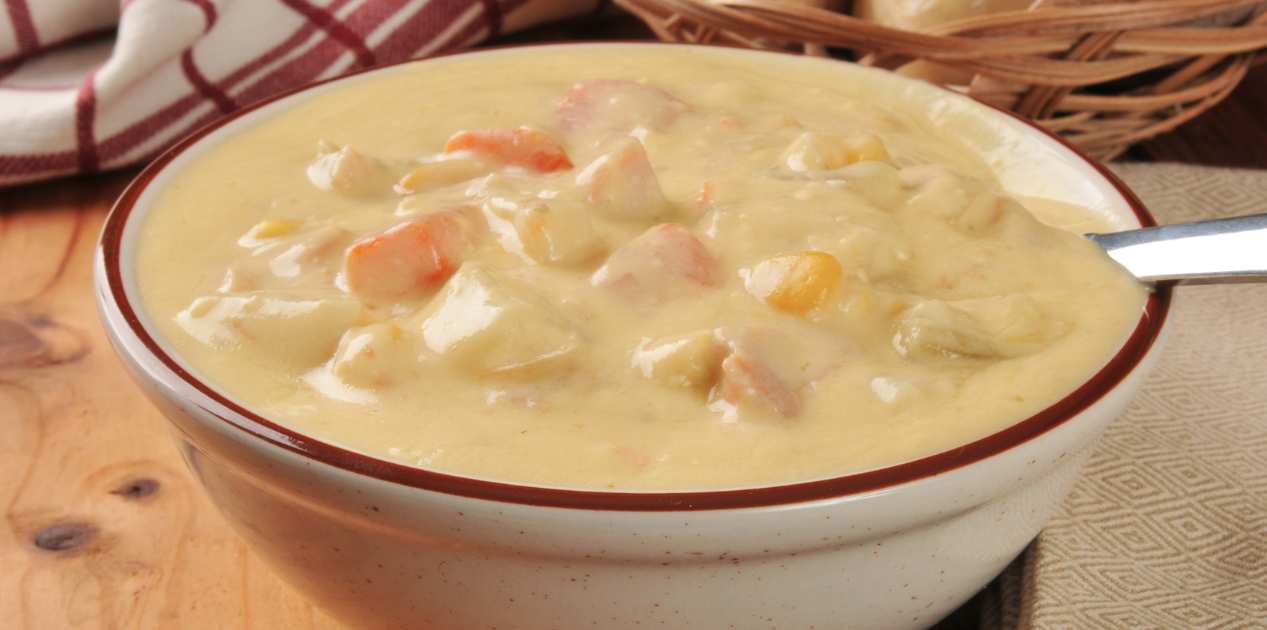 **Slow Cooker Chicken Corn Chowder