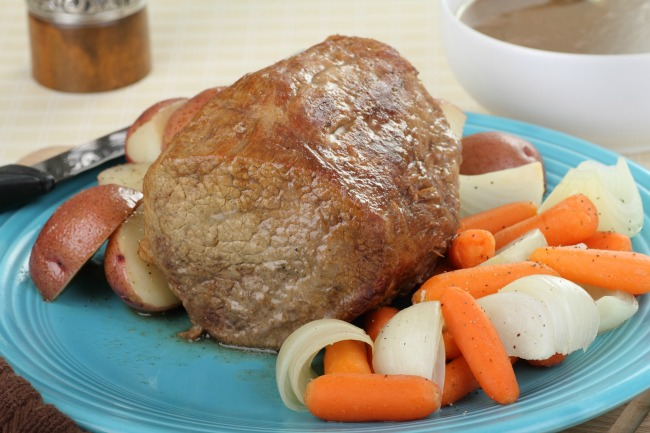 Slow Cooker Family Pot Roast * *