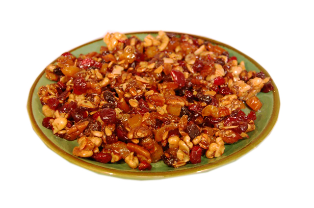 Crock Pot Paleo Apple and Date Crunch