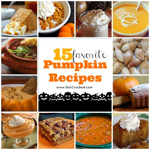 15 Favorite Pumpkin Recipes