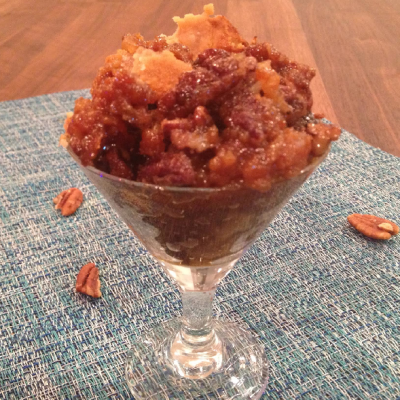 Slow Cooker Pecan Cobbler * *