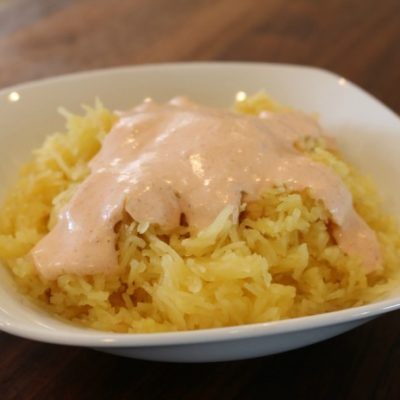 **Slow Cooker Thai Curry Spaghetti Squash