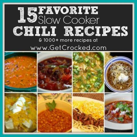 15 Favorite Chilis