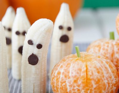 Banana Ghosts & Pumpkin Oranges