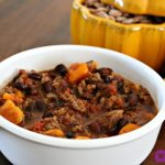 ** Slow Cooker Sweet Potato Chili