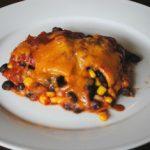 Crock Pot Vegetarian Enchilada Casserole