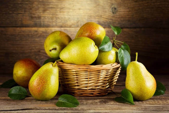 **Slow Cooker Apple Cider Pears
