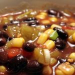 Slow Cooker Caribbean Black Bean Soup **