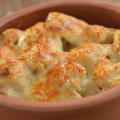 **Slow Cooker Cheesy Cauliflower