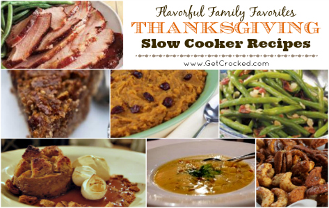 Flavorful Thanksgiving Slow Cooker Recipes