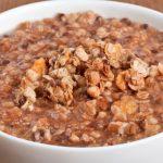 **Slow Cooker Mapel Hazelnut Oatmeal