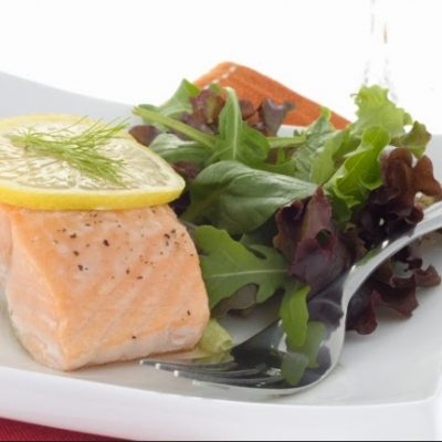 **Slow Cooker Paleo Poached Salmon