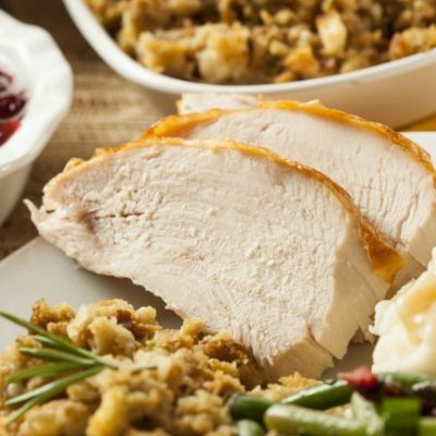 **Slow Cooker Roasted Turkey