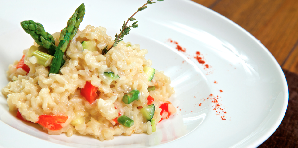 **Slow Cooker Sun Dried Risotto