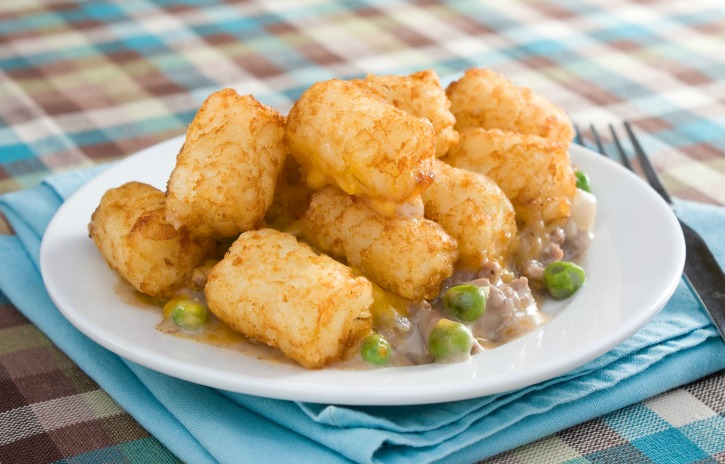 **Slow Cooker Tater Tot Casserole