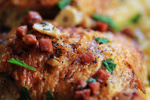 Wine Braised Chicken