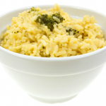 **Slow Cooker Cheesy Rice and Broccoli