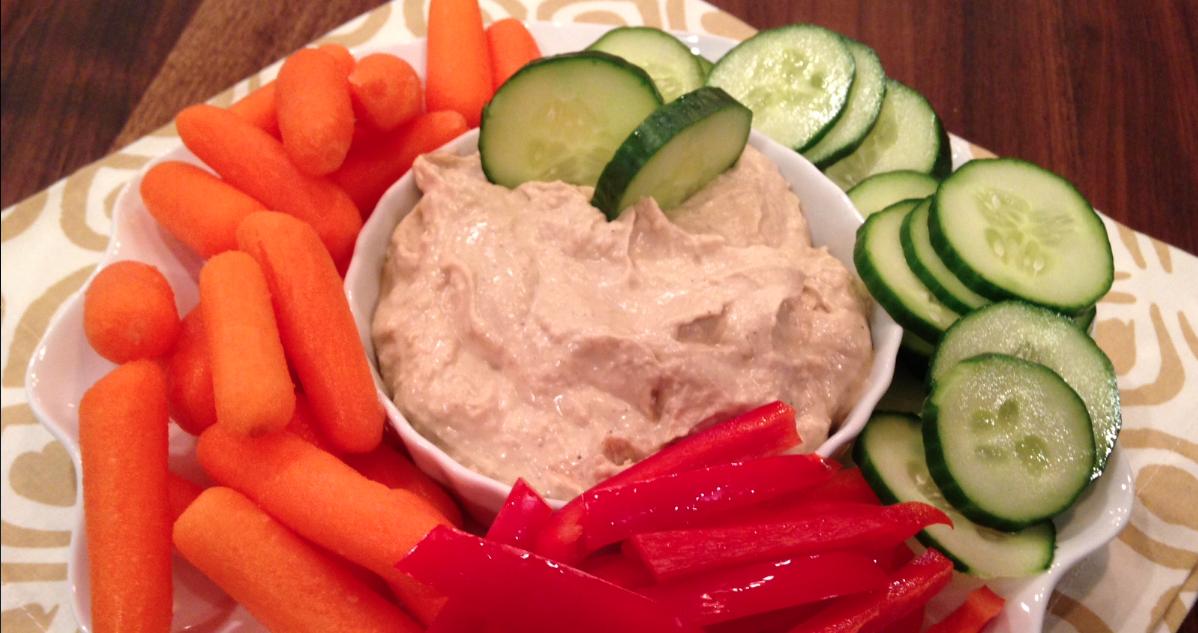 Slow Cooker Mediterranean Hummus * *