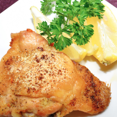 **Slow Cooker Lemon Pepper Chicken