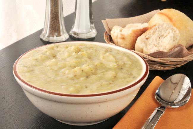 Slow Cooker Potato Leek Soup **
