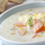 **Slow Cooker Salmon Chowder