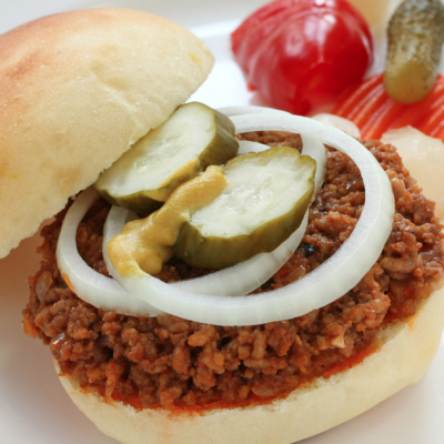 Slow Cooker Clean Eating Sloppy Joes * *