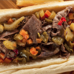 Slow Cooker Chicago Style Italian Beef * *