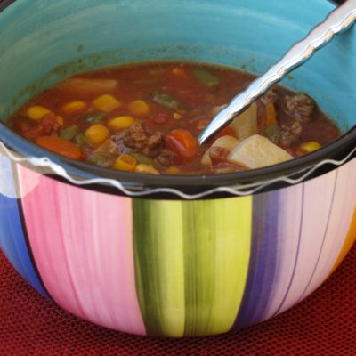 Slow Cooker Hobo Stew * *