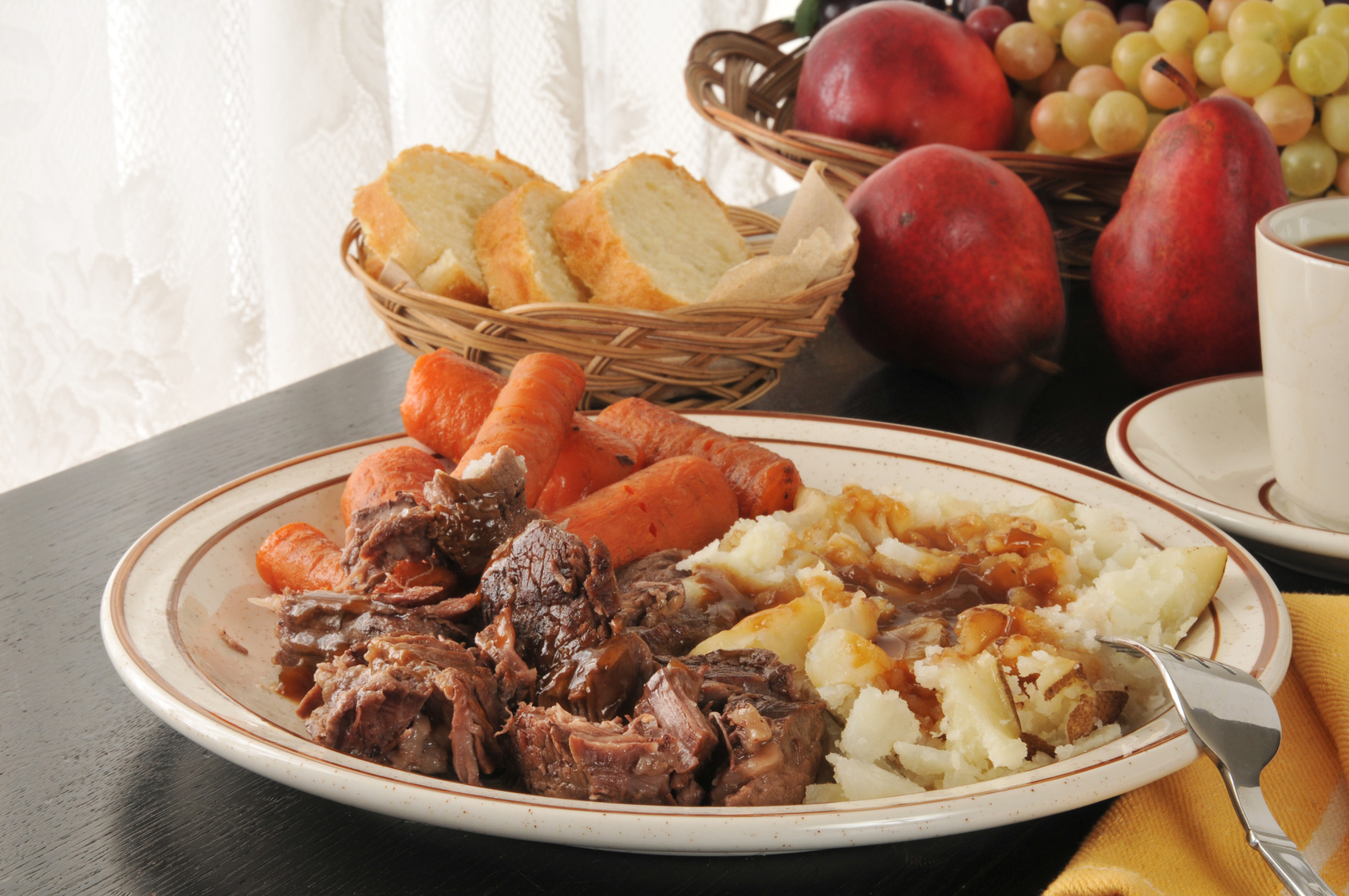 Slow Cooker Yummiest Pot Roast*