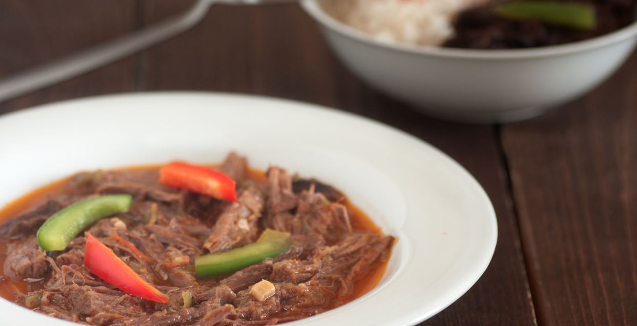 Slow Cooker Paleo Ropa Vieja * *