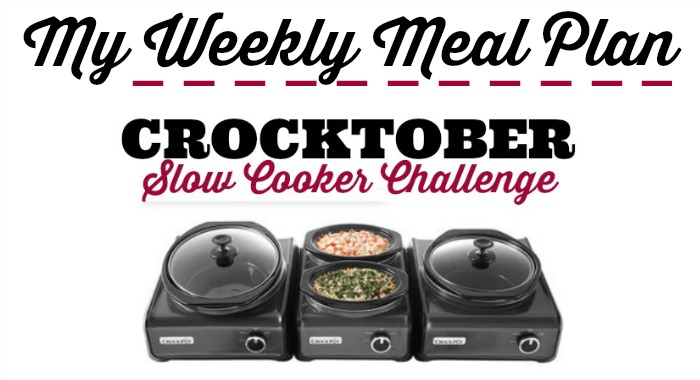 Weekly Meal Plan - Crocktober