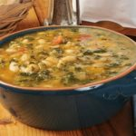 Slow Cooker Sausage, White Bean and Kale Soup **