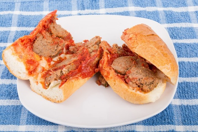 **Slow Cooker Heavenly Meatball Sliders