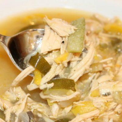 Slow Cooker Harvest Chicken Soup