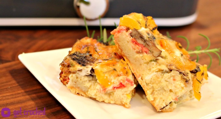 *** Slow Cooker Veggie Breakfast Casserole