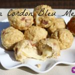 Slow Cooker Chicken Cordon Bleu Meatballs **