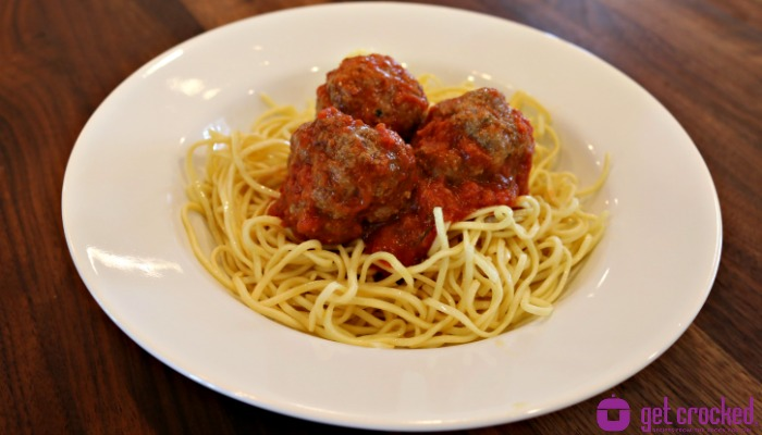 ** Slow Cooker Marinara Meatballs