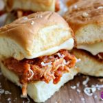** Slow Cooker Chicken Parmesan Sliders