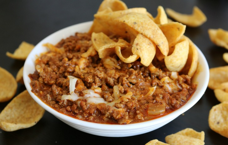**Slow Cooker Beefy Cheesy Enchilada Dip