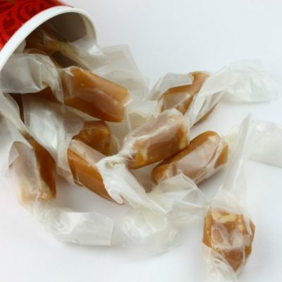 **Slow Cooker Soft Peanut Butter Caramels