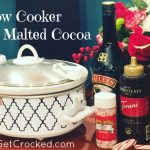 Slow Cooker Bailey's Malted Cocoa