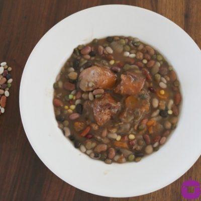 ** Slow Cooker Hurst's HamBeens Cajun 15 Bean Soup