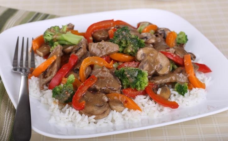 Slow Cooker Citrus Beef & Veggie Stir-Fry