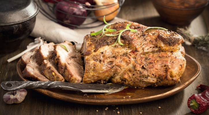 ** Slow Cooker Cran-Orange Porkloin